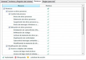 Configuración KIS 2013 - Firewall - configuración - permisos