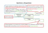 Queísmo y dequeísmo