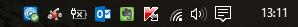 Windows 10 pro - Iconos barra de tareas