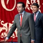 Lasquetty y González jurando el cargo