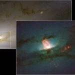 Vida extraterrestre - ngc 4438 agujero negro el nucleo de la galaxia