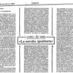 cociente intelectual - Ensayo Rajoy sobre libro La envidia - Faro de Vigo