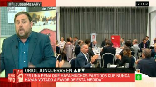 Entrecomillados La Sexta ARV - Oriol Junqueras - Mas - 27S
