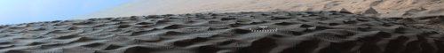 La última frontera . Dunas de arena Marte - Curiosity